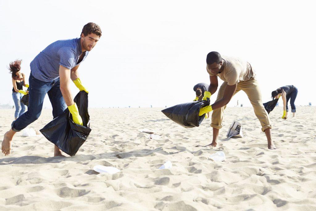Strandreinigung