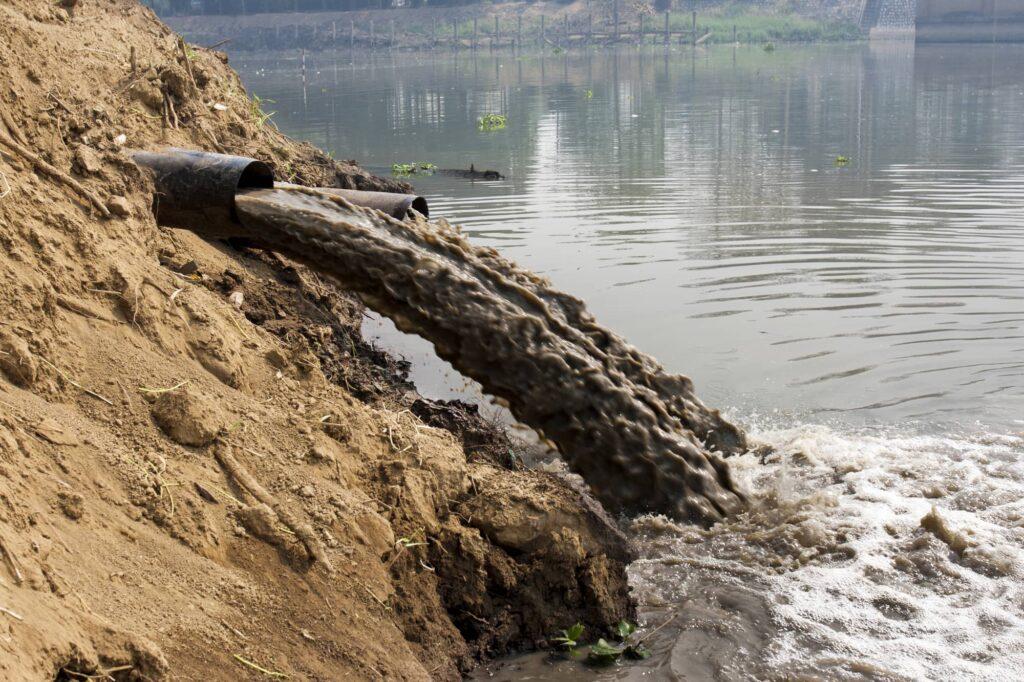 Arten der Wasserverschmutzung