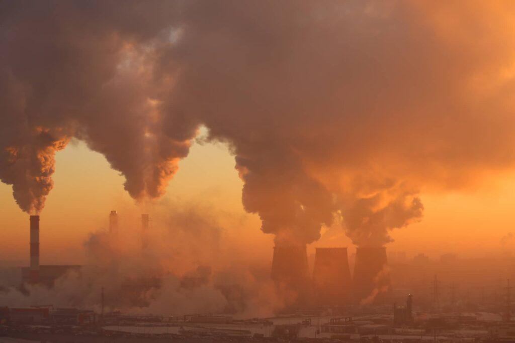 Auswirkungen der Luftverschmutzung auf die Gesundheit
