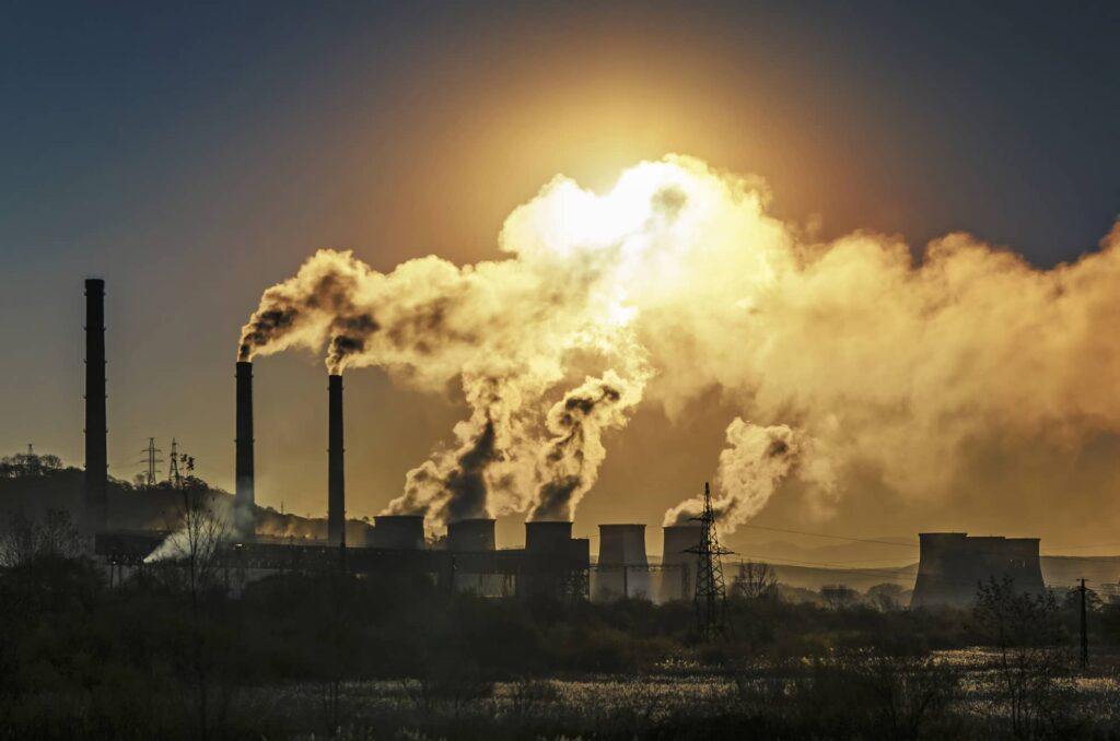 émission de carbone
