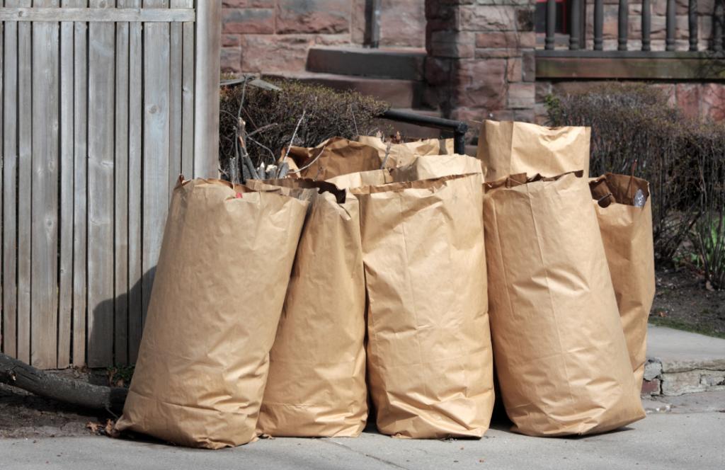 Sacs à ordures compostables