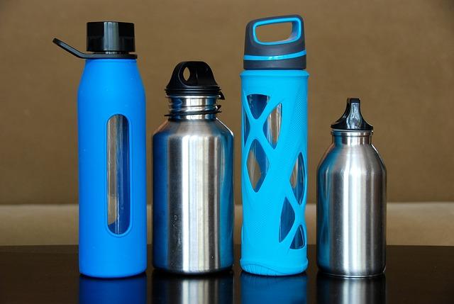 bouteilles en acier inoxydable